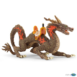 38973 - Fire dragon with saddle