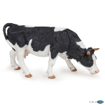 51150 - Black and white grazing cow