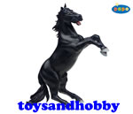 51009 - Reared Up Horse Black