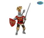 39361 - Knight with Crest Red