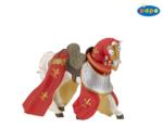 39390 - Draped Horse Red