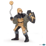 39780 - Black & Bronze Officer With Mace