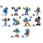 20736-20745 - Full Set of 10 Olympic Smurfs