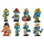 20776-20783 - Complete Set of 8 Jungle Smurfs