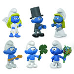 20794-20799 - Complete Set of 6 occsions Smurfs for 2017