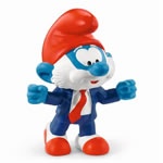 20804 - Football Papa Smurf Coach