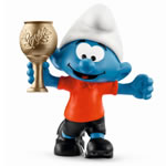 20807 - Football Smurf with Trophy