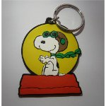 keyfob101 - Snoopy Flying Kennel Keyfob