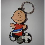 keyfob105 - Charlie Brown with Football Keyfob