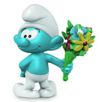 20798 - Smurf with Bouquet