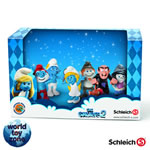 41339 - Boxed collectors set of the 6 Movie2 Smurfs